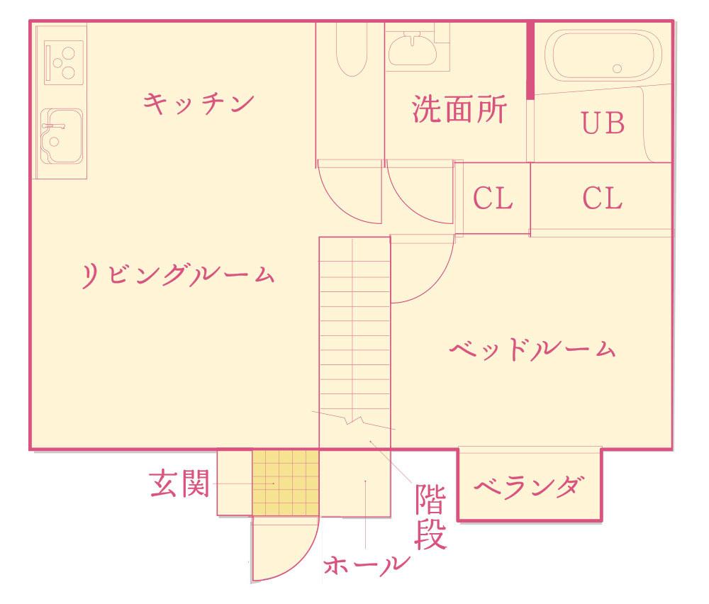 鯖江市 アパート 1LDK ペット可