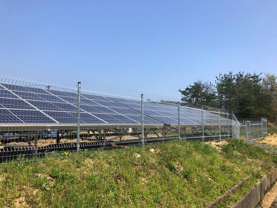 太陽光発電所 福井県あわら市